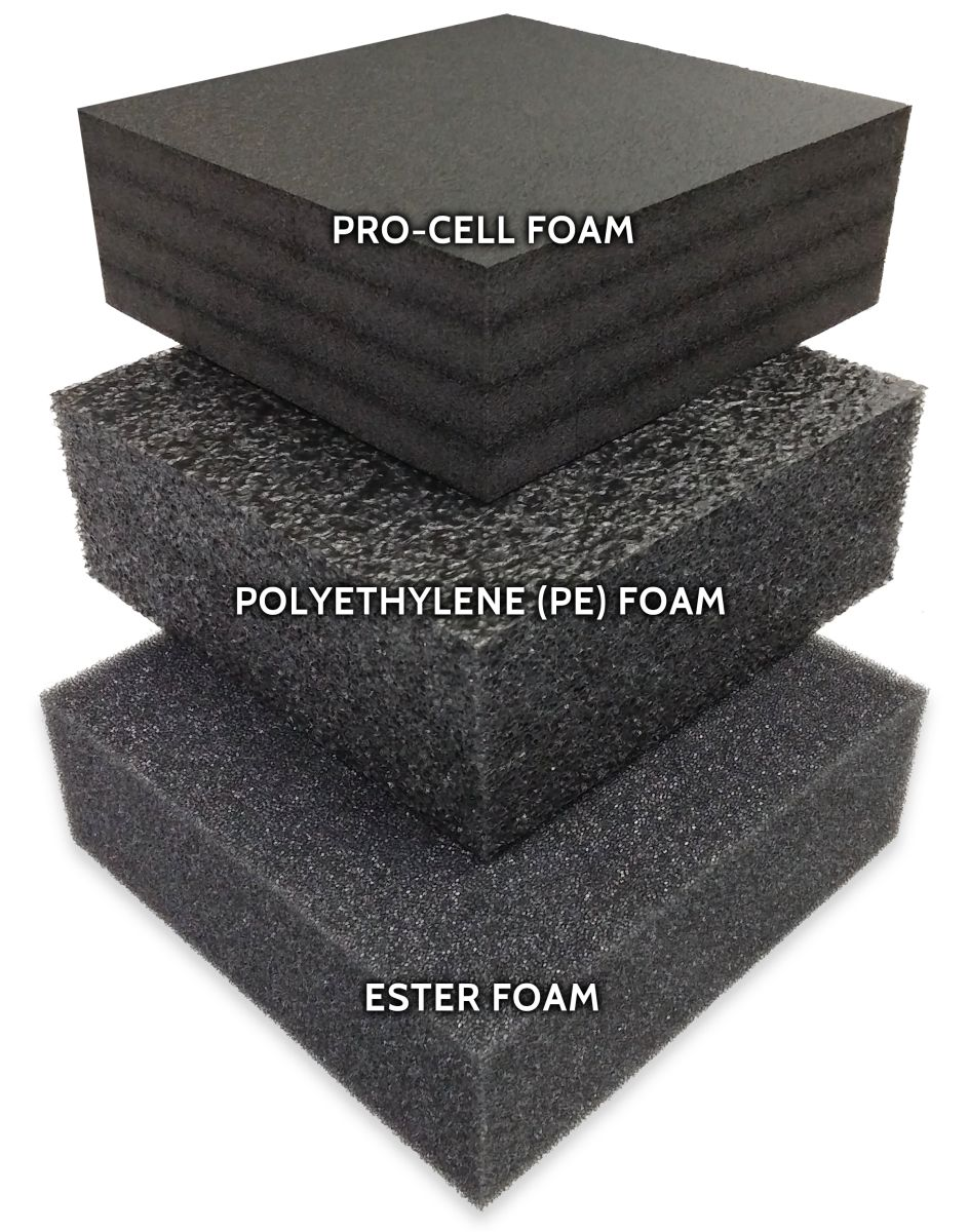 ad54b674218 MyCaseBuilder - How to Choose the right foam for your custom case
