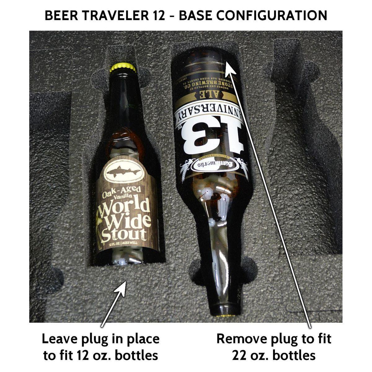Seahorse SE-920 BC Beer Traveler 12 Custom Foam Case - Base Configuration