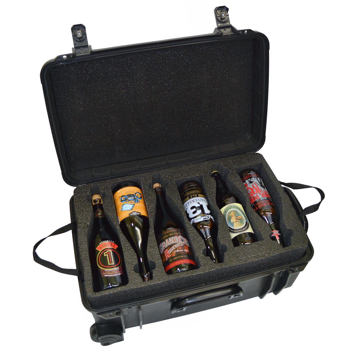 Seahorse SE-920 BC Beer Traveler 12 Custom Foam Case - Top Level