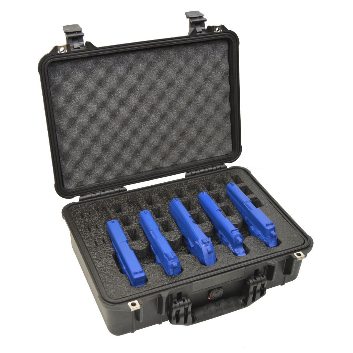 Arms Guard 5 Pistol Heavy Duty Pelican 1500 Case