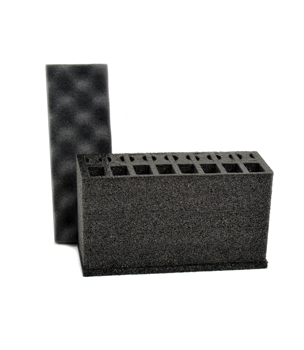 24 Pistol Magazine foam insert for .50 Caliber Ammo Canister