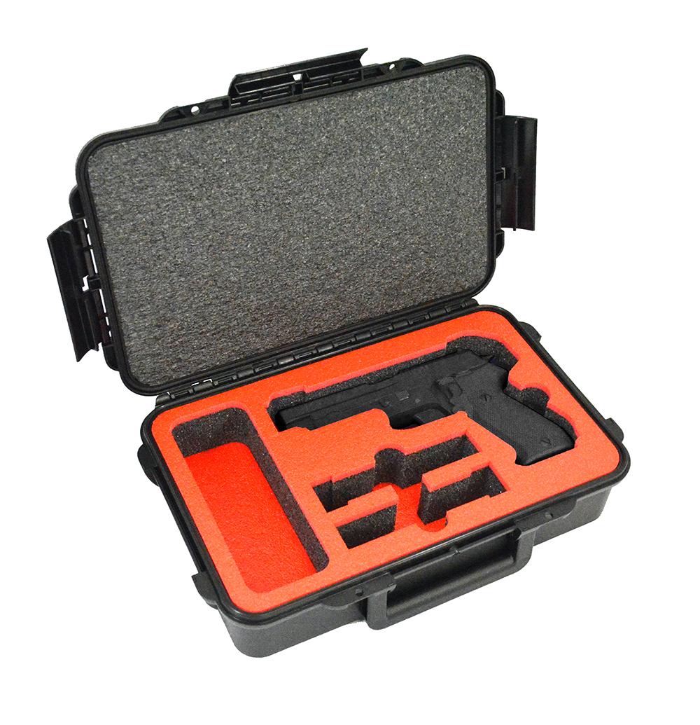 Arms Guard Single Pistol Double Magazine DORO Sport 400 Case