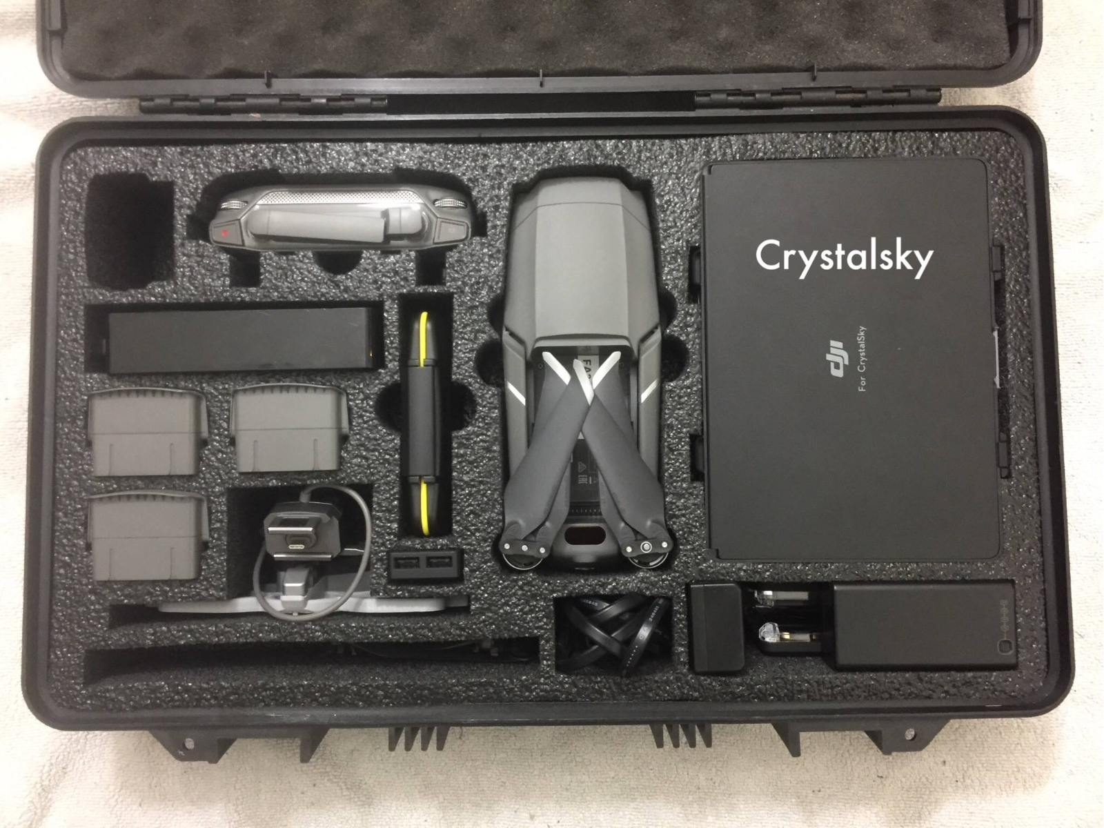"DJI Mavic 2 with 7.48"" CrystalSkyHPRC 2530 Case*USER DESIGNED*10"