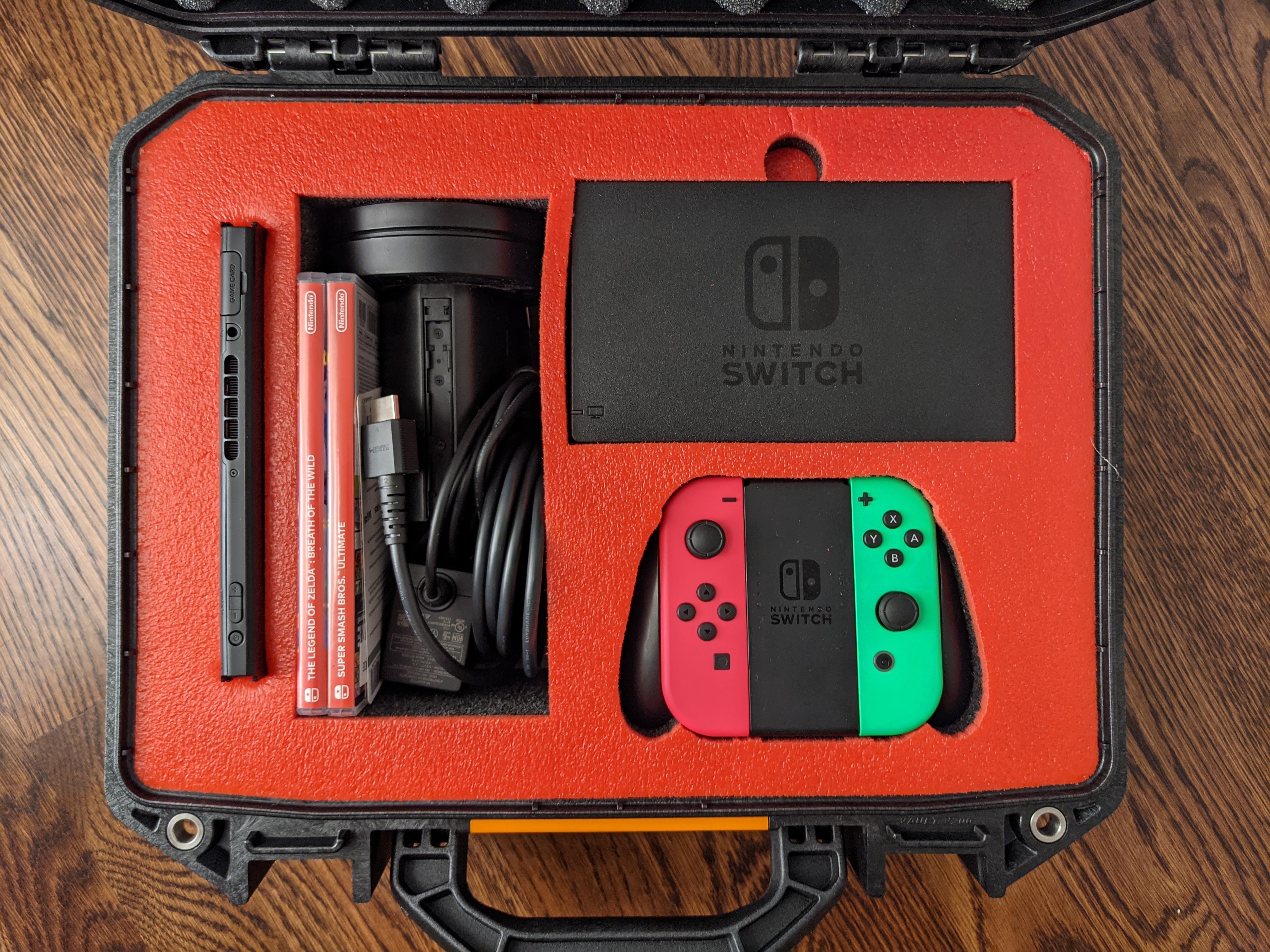 Nintendo Switch in a Pelican Vault Case.10
