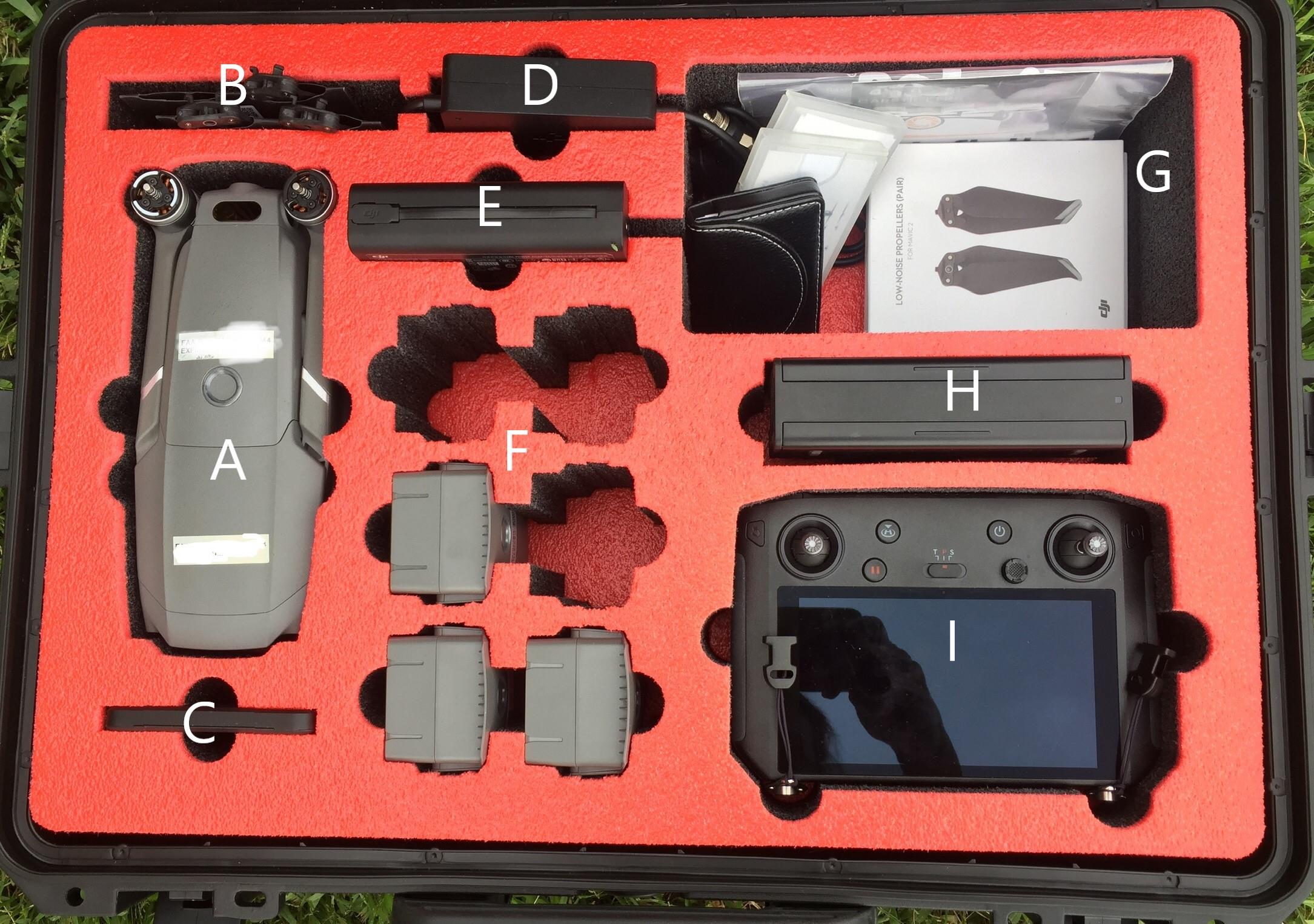 Mavic 2 Pro in a DORO D1913-7 Case and Foam0