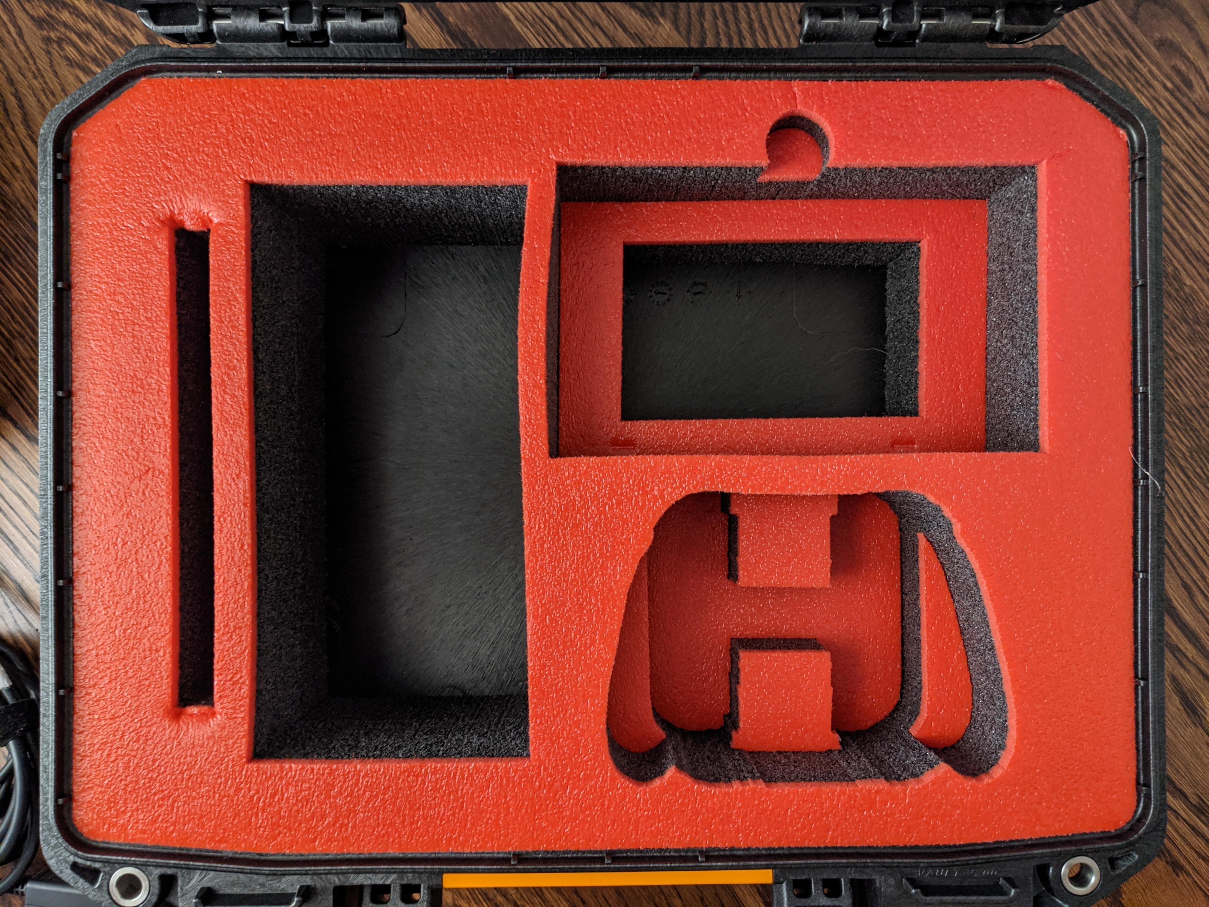 Nintendo Switch in a Pelican Vault Case.20