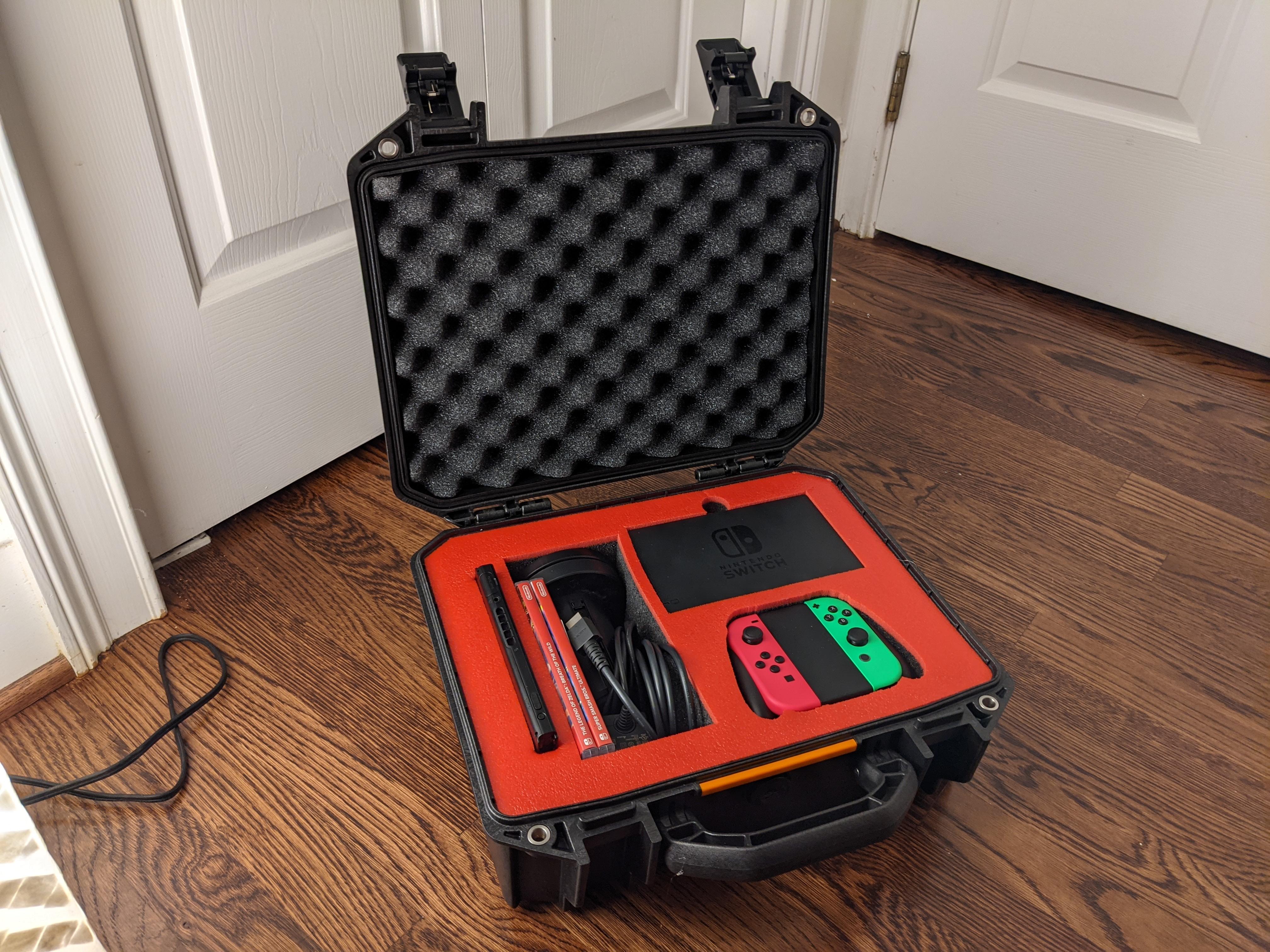 Nintendo Switch in a Pelican Vault Case.0
