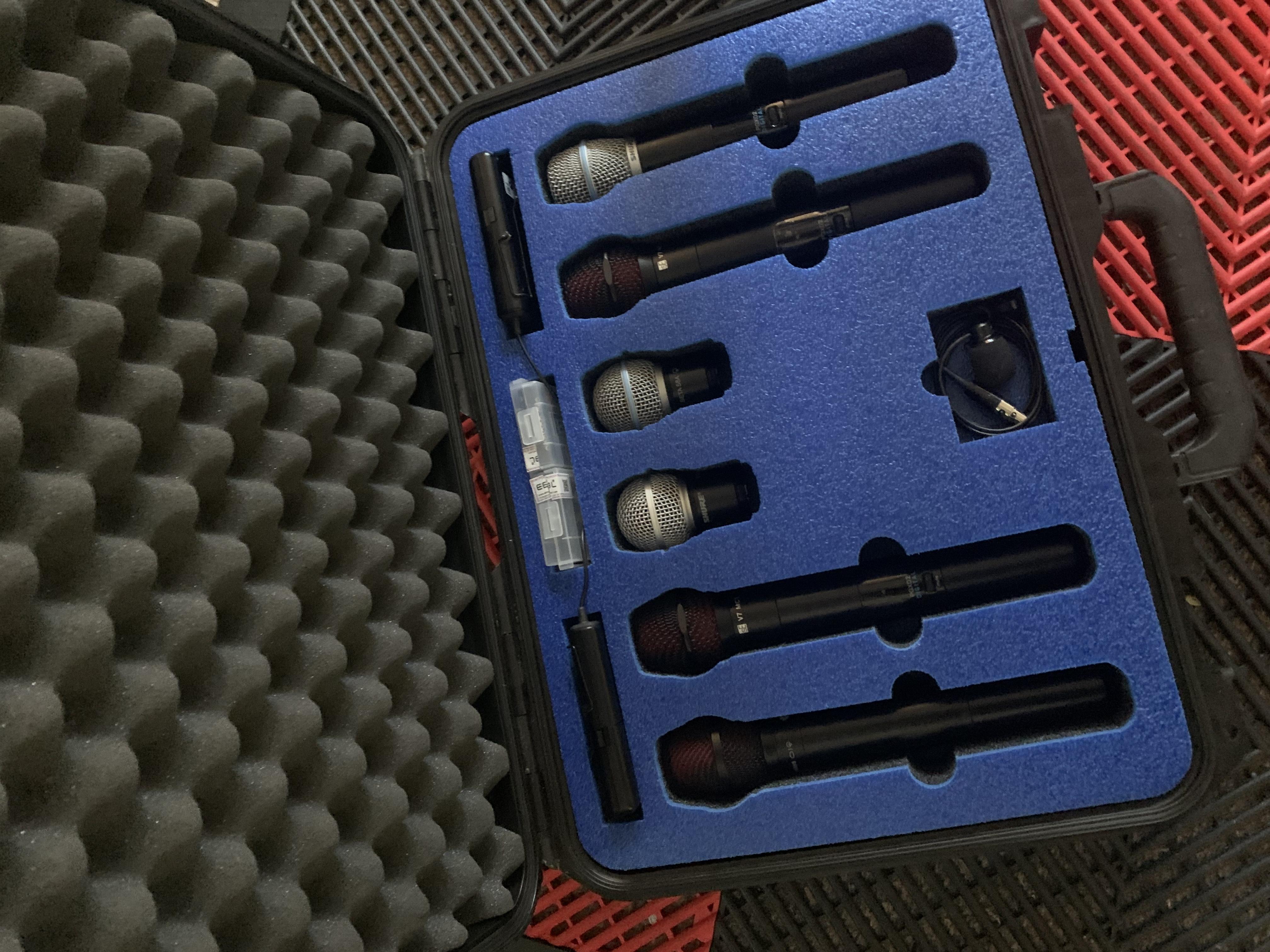 Shure PGX and SLX wireless case0