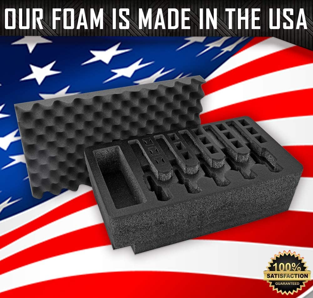 Arms Guard 5 Pistol Foam Insert for Pelican 1500 (FOAM ONLY)