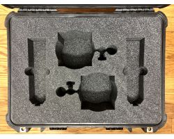 Neumann U87ai Stereo Pair with Shockmounts in Pelican 1520 Case0