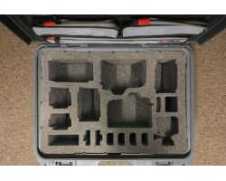 Nanuk 925 insert for 2X Canon 80D, GoPro Hero 8 and accessories0