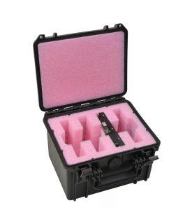 """4 x 3.5"""" SATA / PATA / IDE Hard Drive Storage Case - DORO D0907-6"""