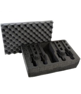 Arms Guard 5 Pistol Foam Insert for Pelican 1500 (FOAM ONLY)