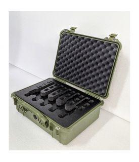 MyCaseBuilder 5 Pistol Heavy Duty Pelican 1520 Case